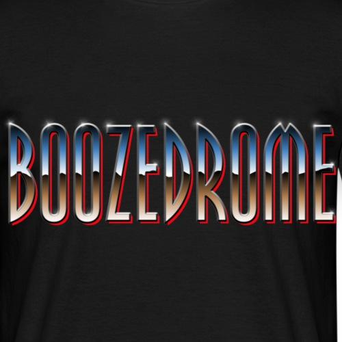 Boozedrome - Logo - Miesten t-paita