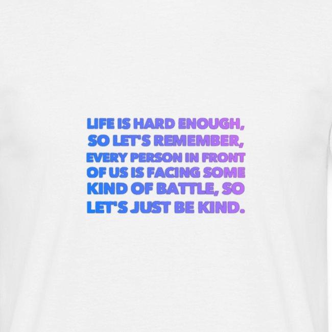 Lets just be kind