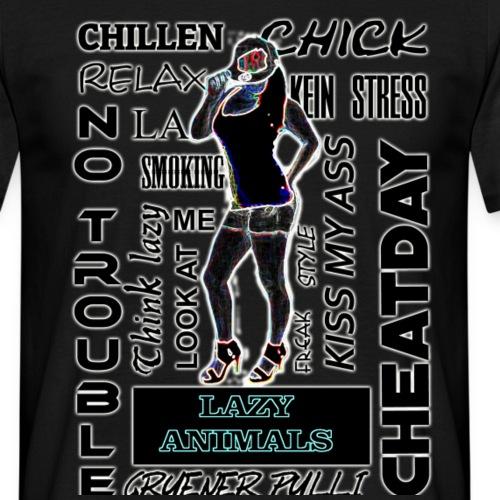 la model neo filter - Männer T-Shirt