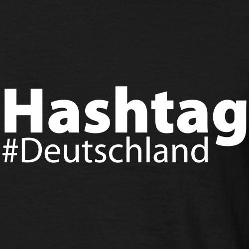 HashTag #Deutschland - Männer T-Shirt