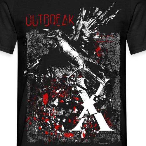 RAVEN | OUTBREAK-X - Männer T-Shirt