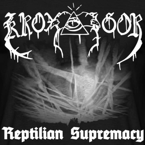 Kroxigor - Reptilian Supremacy - Männer T-Shirt