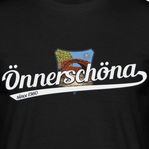Önnerschöna - Männer T-Shirt