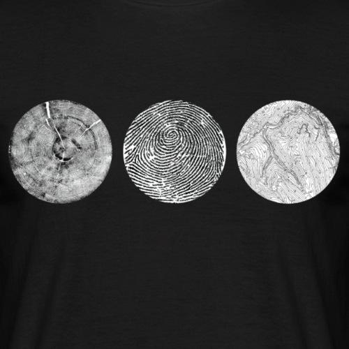 Lines - Maglietta da uomo