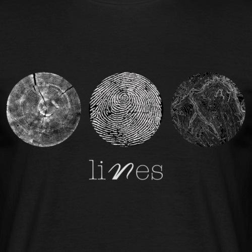 Lines_copia - Maglietta da uomo