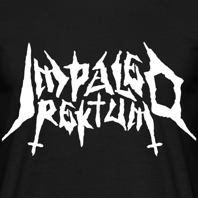 Impaled Rektum -logo shirt