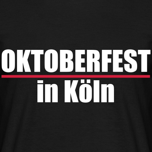 Oktoberfest Köln - Männer T-Shirt