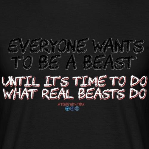 Beast - Camiseta hombre