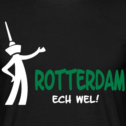 rotterdam ech wel - Mannen T-shirt