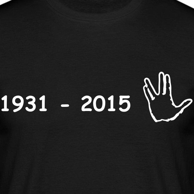 Leonard Nimoy Spock 2015