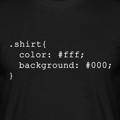 css - Mannen T-shirt