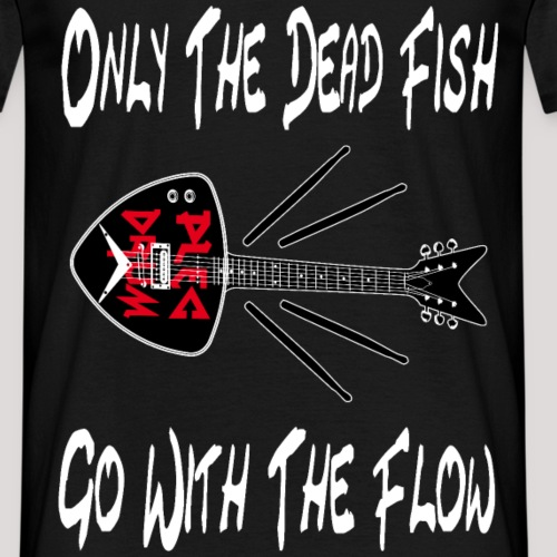 plecdrum dead fish - Männer T-Shirt