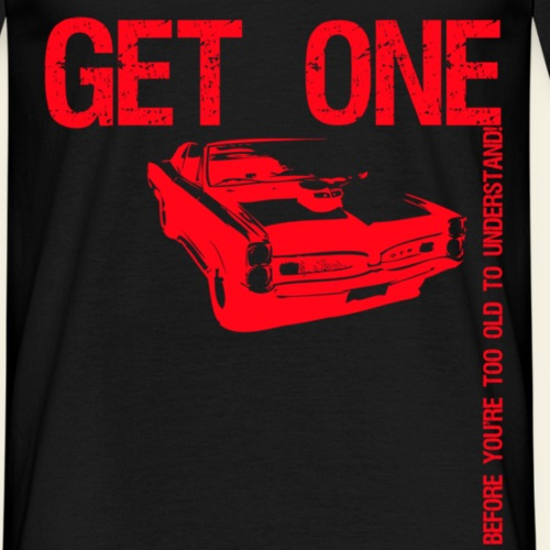 gto red - Herre-T-shirt