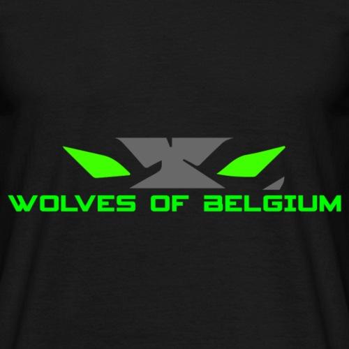 Wolves of Belgium Eyes - Men's T-Shirt