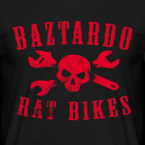 BAZTARDO - Ratbikes - Männer T-Shirt