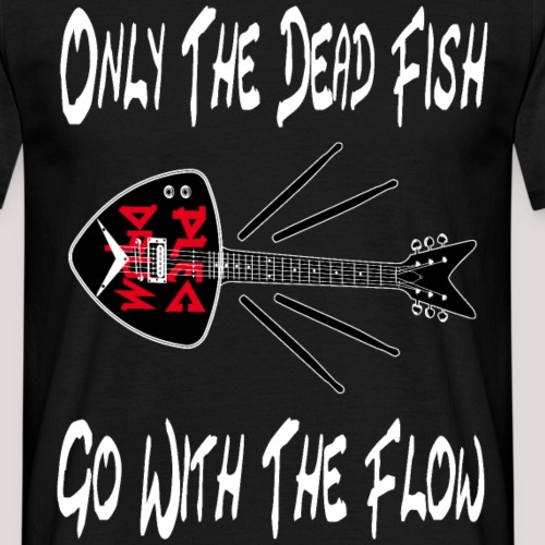 plecdrum dead fish - Männer T-Shirt