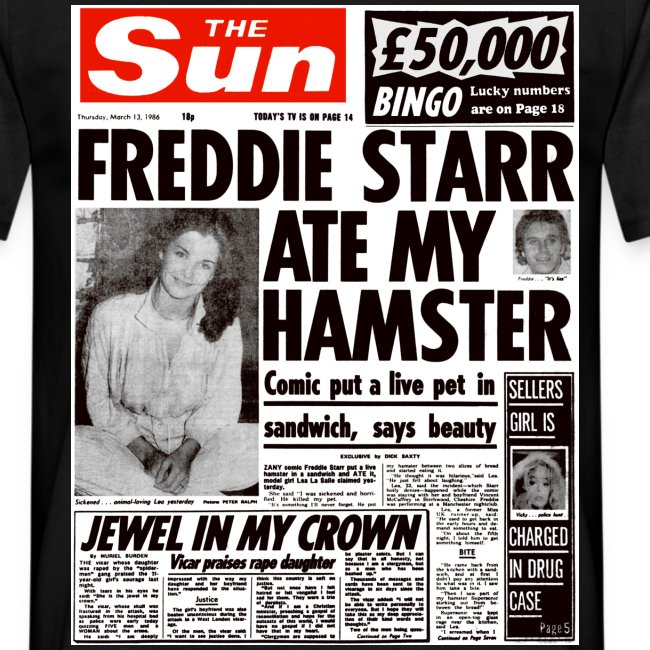 Freddie Starr Ate My Hamster FP C