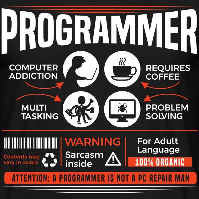 Vie de programmeur