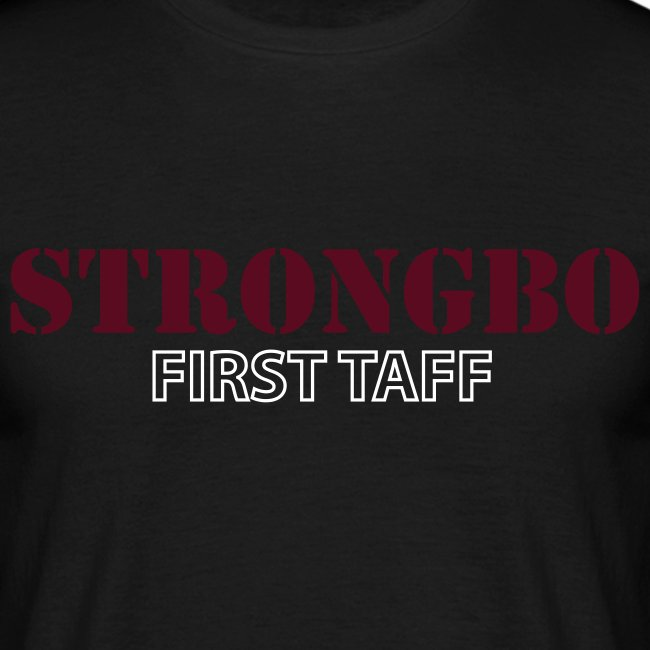 strongbo white red
