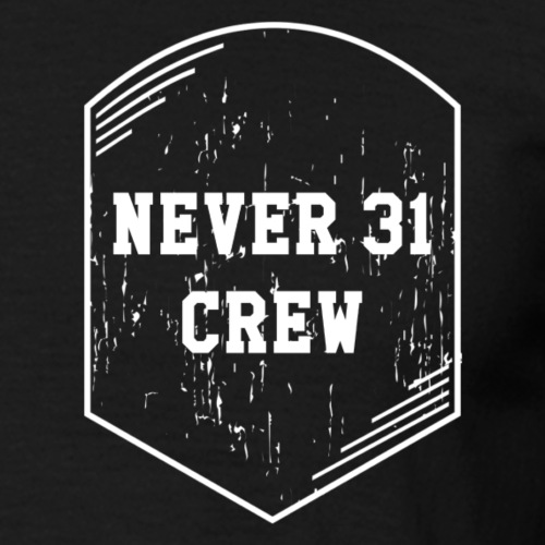 Never 31 Patch - Männer T-Shirt