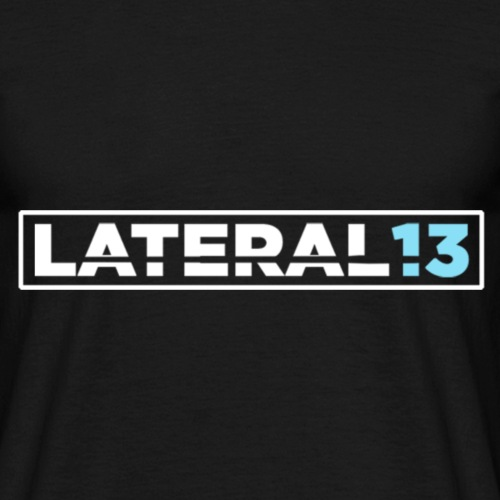 Lateral noir - T-shirt Homme