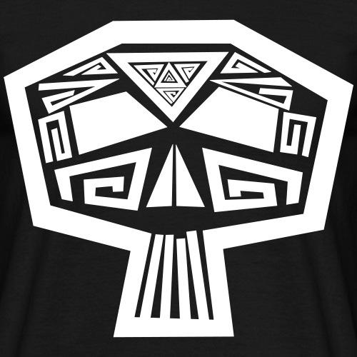 Angular Skull - Männer T-Shirt
