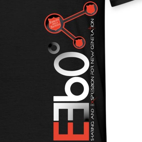 Nuovo Logo E360 Bianco Verticale slogan png - Maglietta da uomo