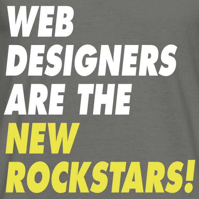 Web Designers Are The New Rockstars