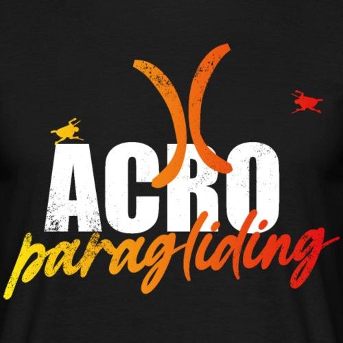 Acro Paragliding - Männer T-Shirt