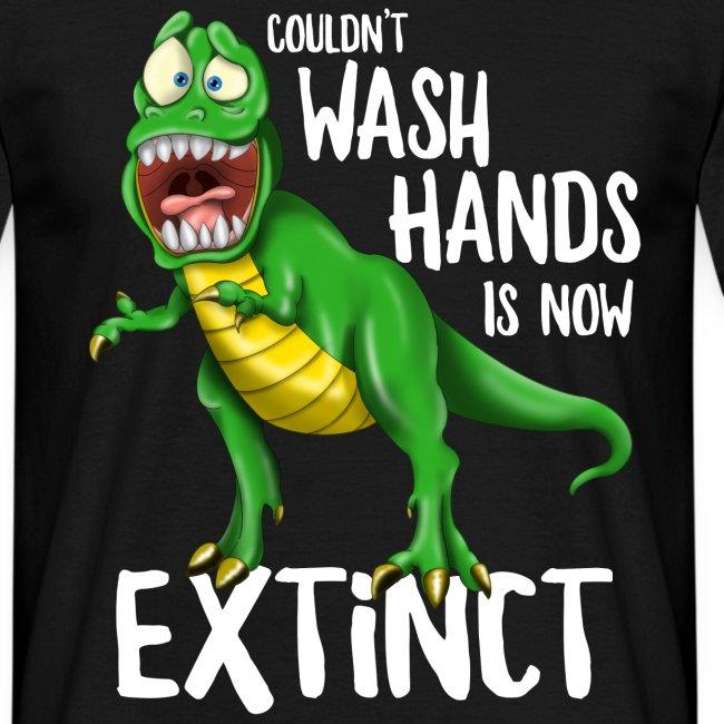 Wash Your Hands Tyrannosaurus Flu Cold Virus