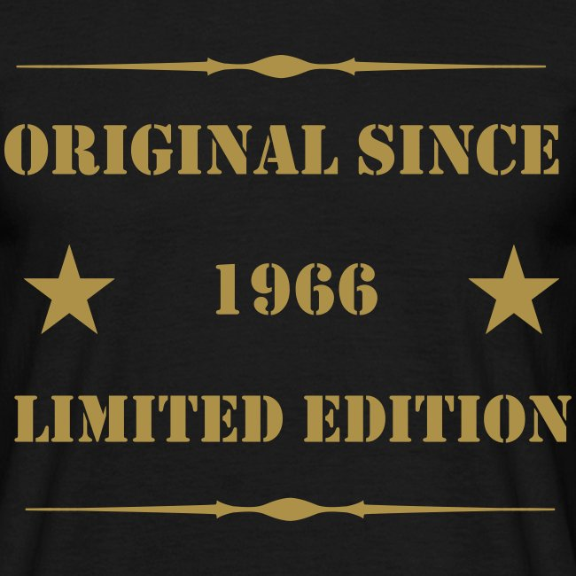 1966 Limited Edition Gold
