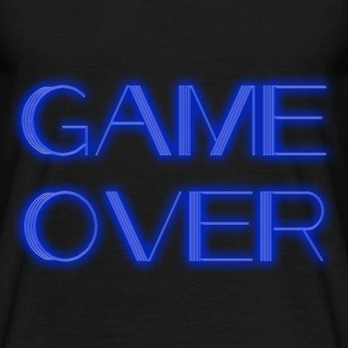 Game Over Neon - Männer T-Shirt