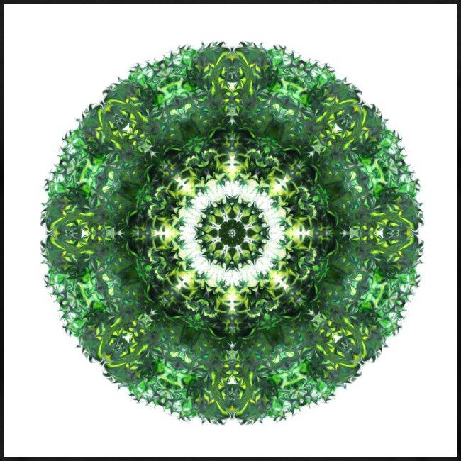 "Mandala ""Emerald Eye"""