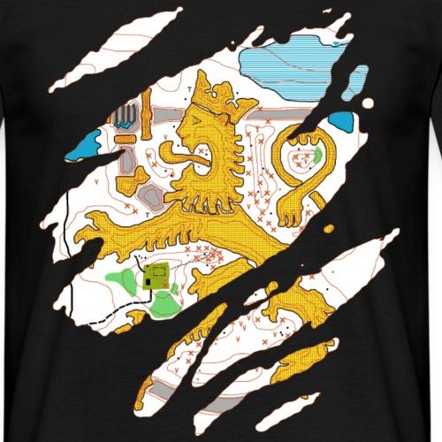 Karttaleijona - Miesten t-paita