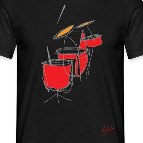 Drums - Men's T-Shirt