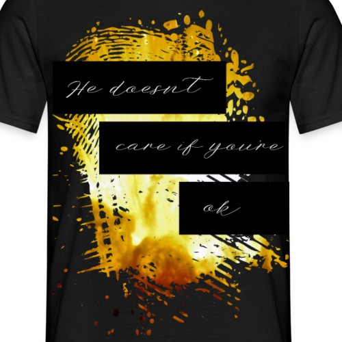 care2 png - Men's T-Shirt