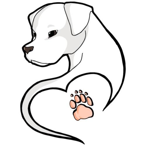 Dogo Argentino - Maglietta da uomo