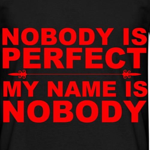 nobody - T-skjorte for menn