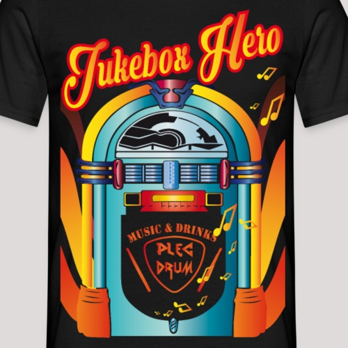 jukebox hero - Männer T-Shirt