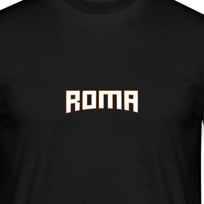 ROMA Orange Outline