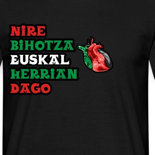 Bihotza - Camiseta hombre