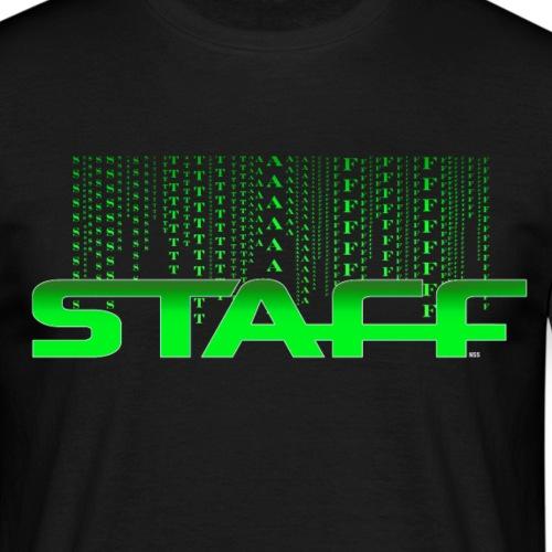 STAFF GREEN FICTION by Florian VIRIOT - T-shirt Homme