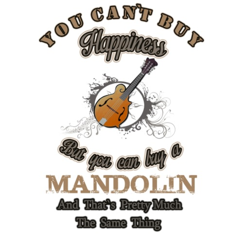 You can`t buy Happyness - Männer T-Shirt