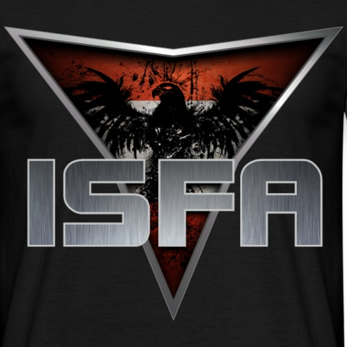 ISFA Logo Abzeichen4 - Männer T-Shirt