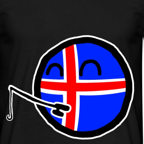 Icelandball - Men's T-Shirt