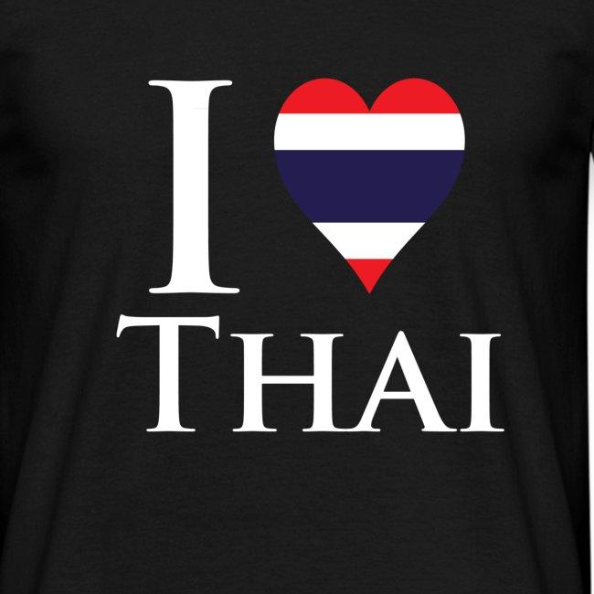 I Love Thai Black