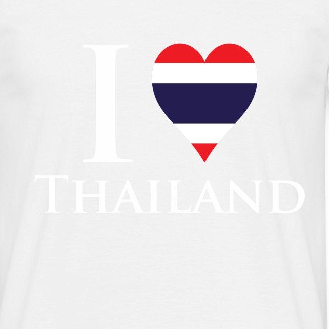 I Love Thailand Black