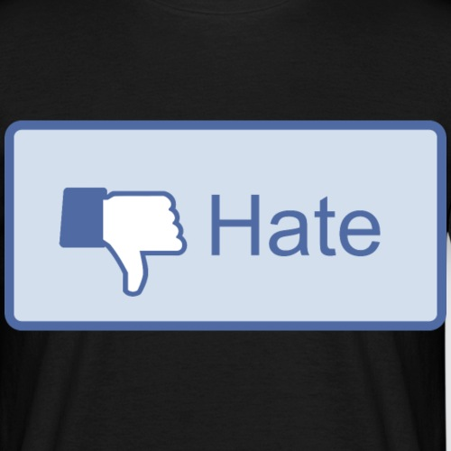 Hate - Maglietta da uomo