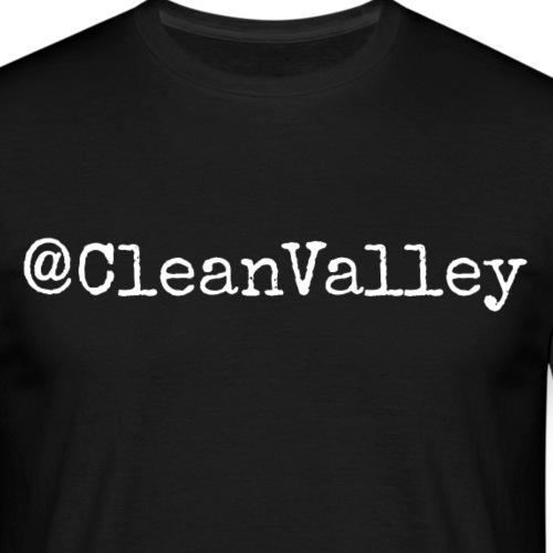 clean valley - T-skjorte for menn