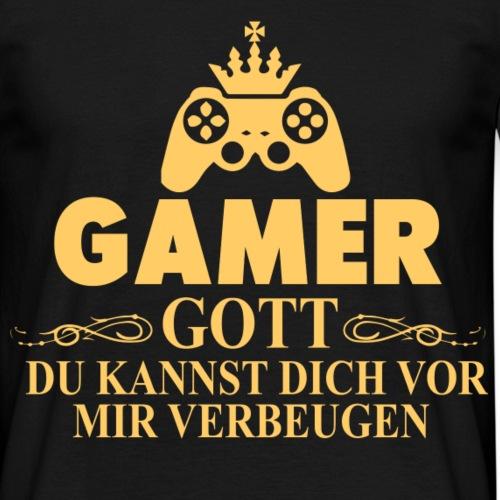 GAMER GOTT - Männer T-Shirt